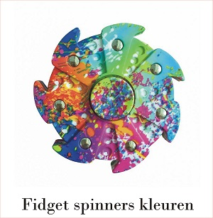 fidget hand spinner kleuren
