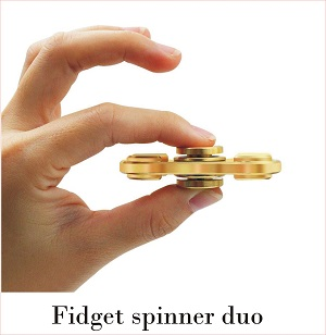 fidget spinner duo