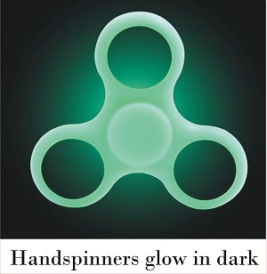 hand spinner glow in the dark