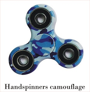 hand spinners camouflage
